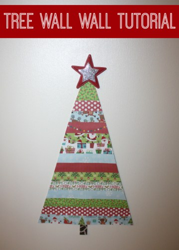 christmas tree wall tutorial