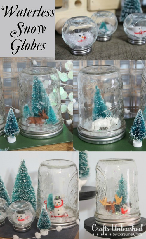 Waterless-homemade-snow-globes