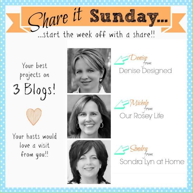Share it Sunday Link Party
