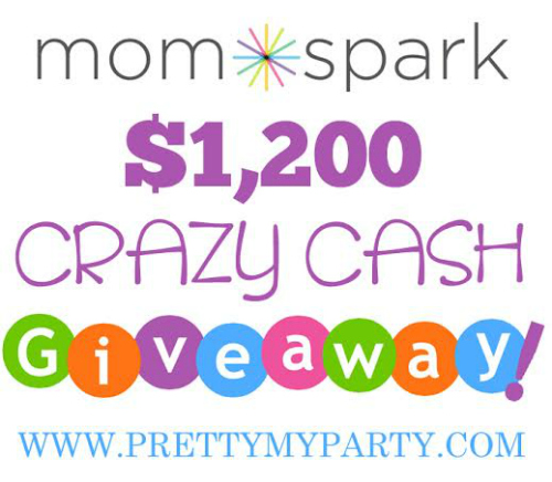 Enter the $1200 Crazy Cash Giveaway