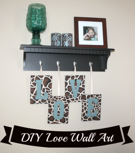 DIY Love Wall Art