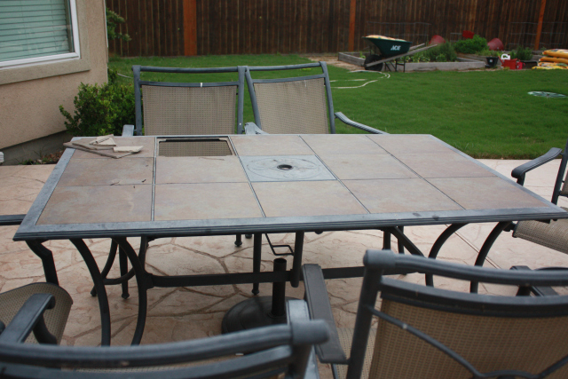 Fancy Revitalizing Outdoor Dining Table