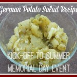 German Potato Salad Kick off to Summer 500 150x150 Last Day to Enter Two Giveaways