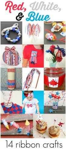Patriotic Ribbon Crafts Video Tutorials