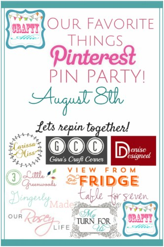Pinterest Pinning Party 500