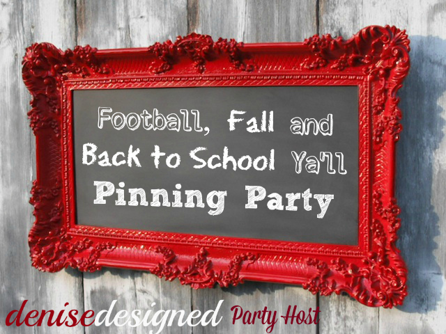 fall pinterest party button