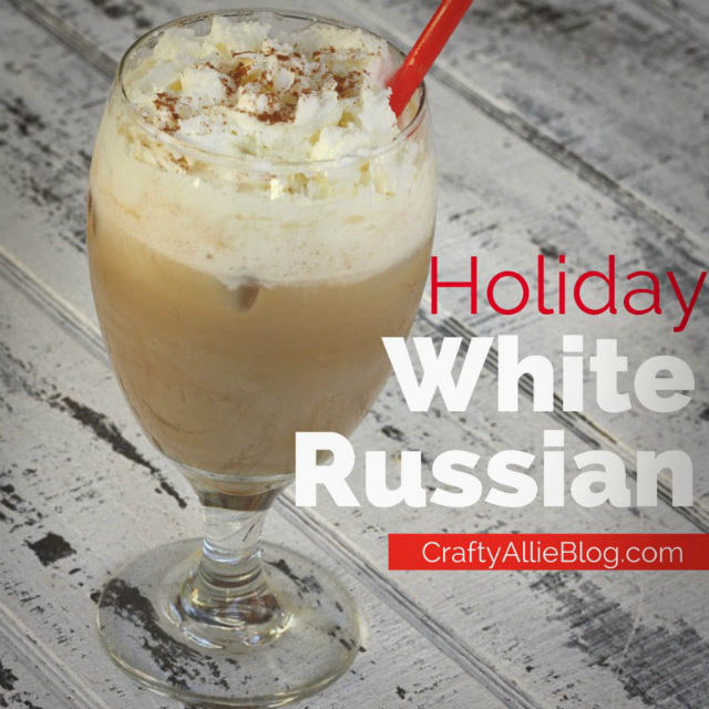 Holiday White Russian drink recipe