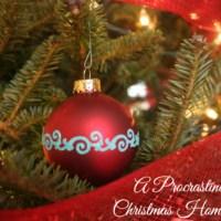A Procrastinators Christmas Home Tour and Giveaway