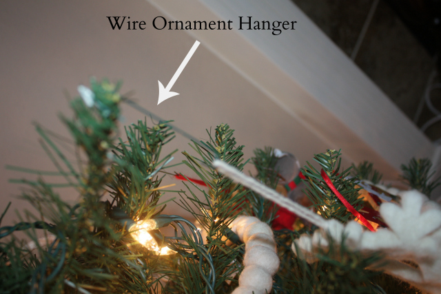 wire ornament hanger