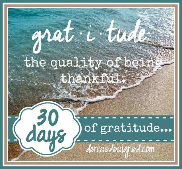 30 Day Gratitude Challenge 640