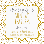 New Sunday Features I Love To Party