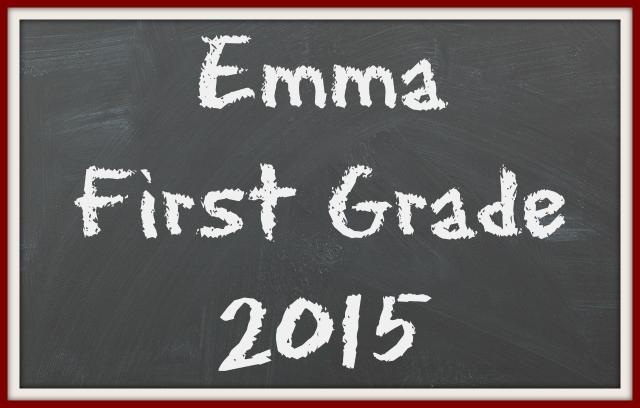 first grade emma