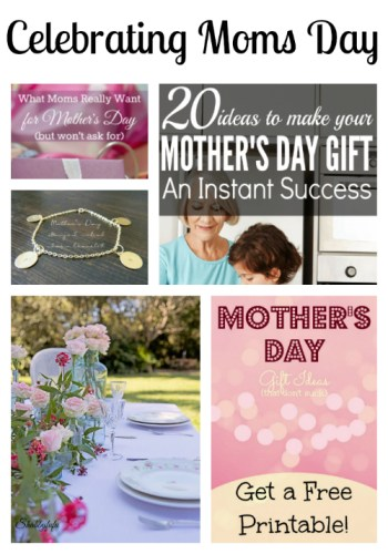 Celebrating Moms Day at Sunday Features {76}