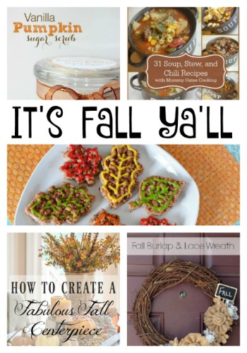 It's Fall Ya'll at Sunday Features {93}