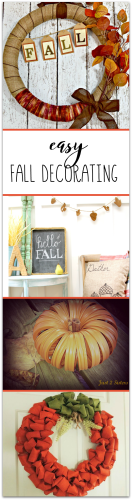 Fall Decorating at Sunday Features {98}