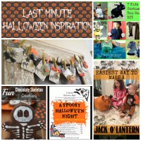 Last Minute Halloween Inspiration at Sunday Features {100}
