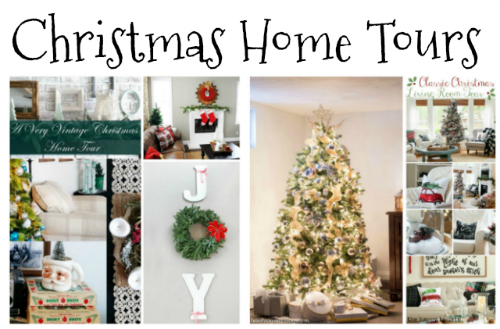 Christmas Home Tours at Sunday Features {108}