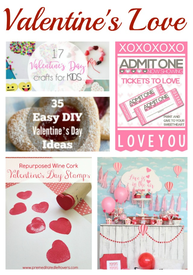 Valentines Love Collage