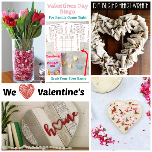 We Heart Valentine's Day at Sunday Features {163}