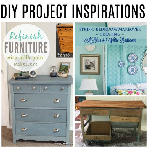 DIY Project Inspirations at Sunday Features {173}