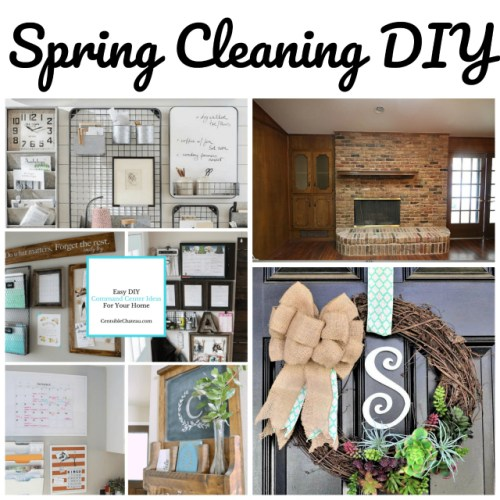 Spring Cleaning DIY at Sunday Featuress {171}