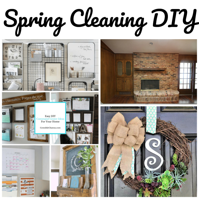 spring cleaning diy