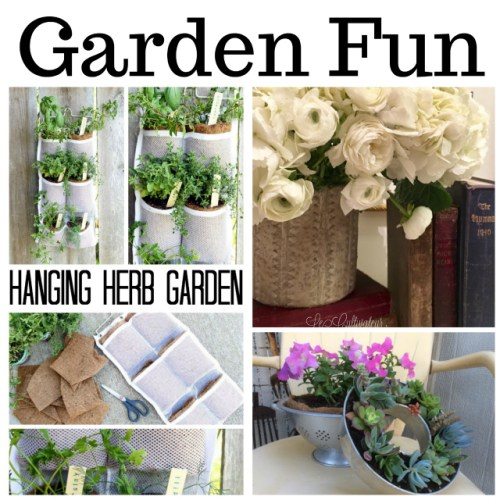 Garden Fun at Sunday Features {175}