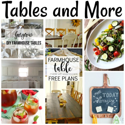 Tables and More at Sunday Features {186}