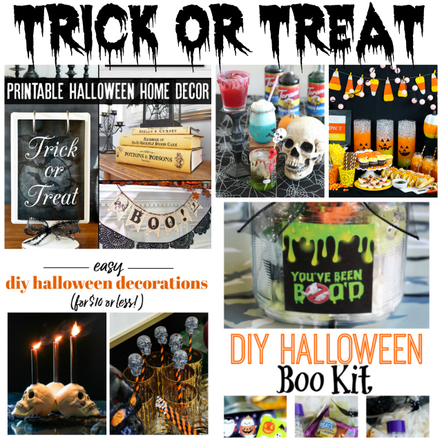 trick or treat collage