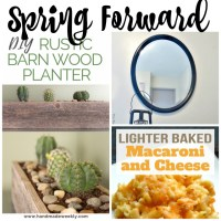 Spring Forward at Sunday Features {219}