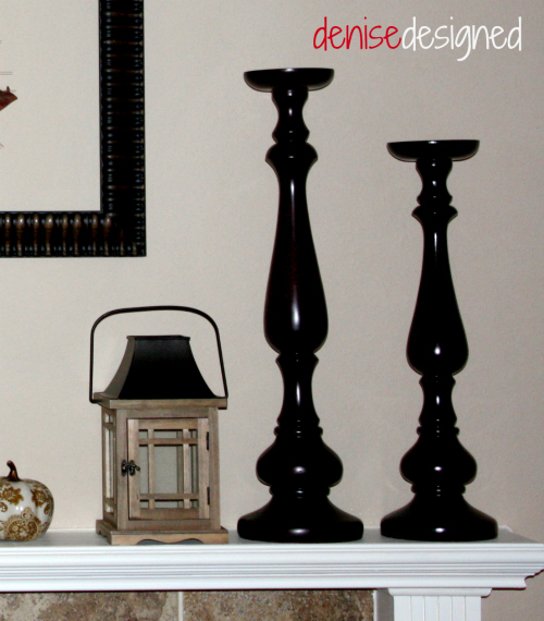 mantel candlesticks