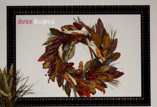 mantel wreath