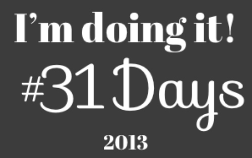 31 Day Challenge Playing it Safe