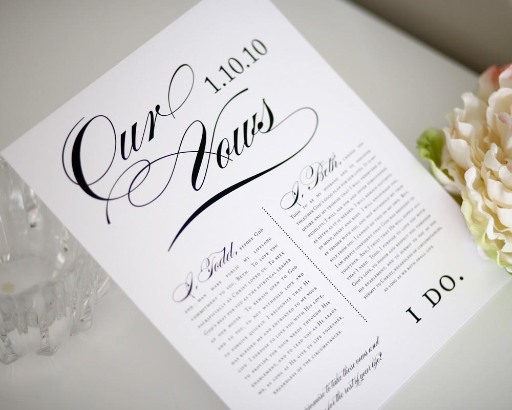 Fullsize Of Romantic Wedding Vows