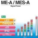 Đèn tháp tín hiệu đường kính Ø25mm ME/MES