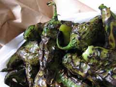 Roasted Green Chiles