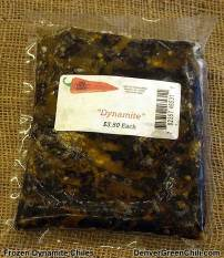 Brighton Dynamite Chiles Frozen to keep for years