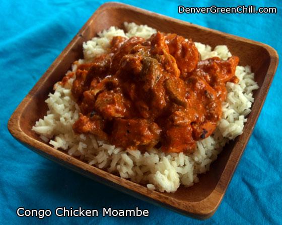Congo Chicken Moambe recipe