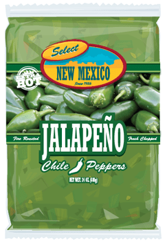 Frozen Hatch Green Chiles From Select New Mexico