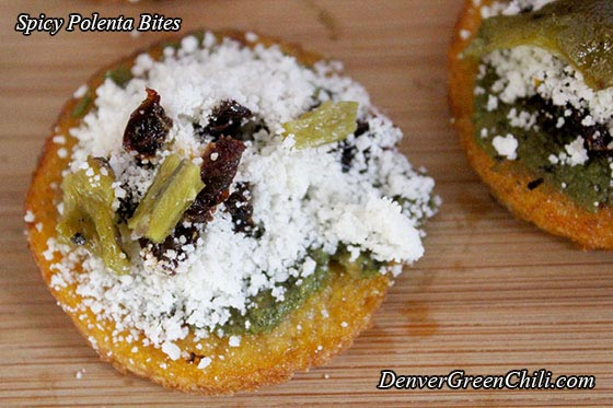 Sundried Tomato Polenta Bites Recipes — Dishmaps