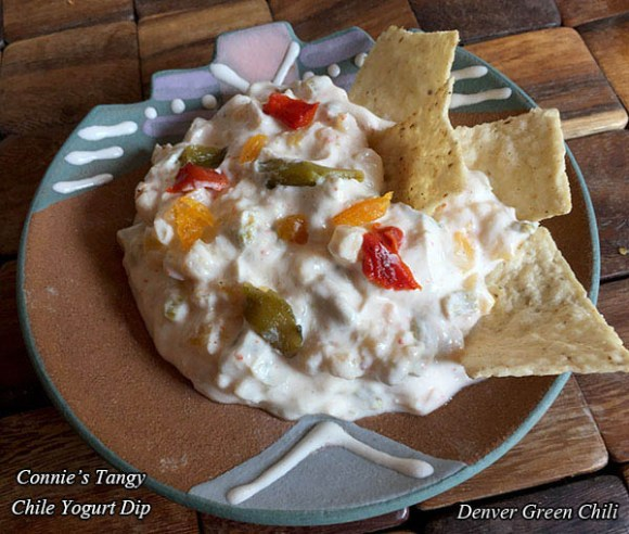 Apricot Chile Yogurt Dip