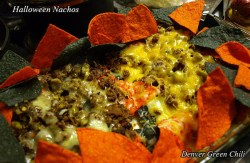 Spicy Halloween Nachos