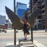 Wings of the City Riverfront Park Denver