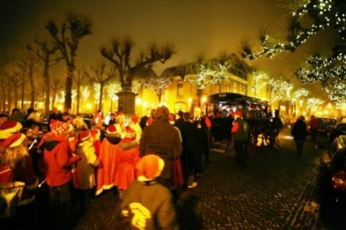 Muziek verlicht binnen oude dorpskern Noordwijk
