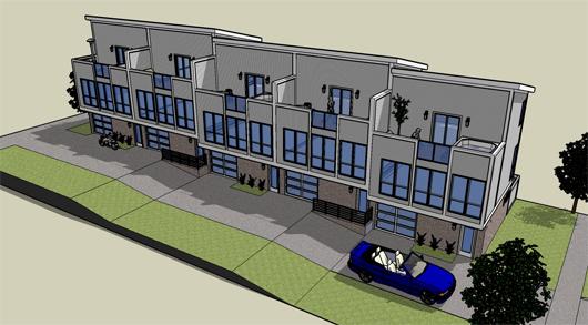 Duplex de tres pisos y dos habitaciones