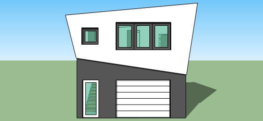 Casa de 2 pisos un dormitorio y 88 metros cuadrados