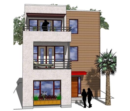 Casa de 3 pisos, 2 dormitorios y 150 metros cuadrados
