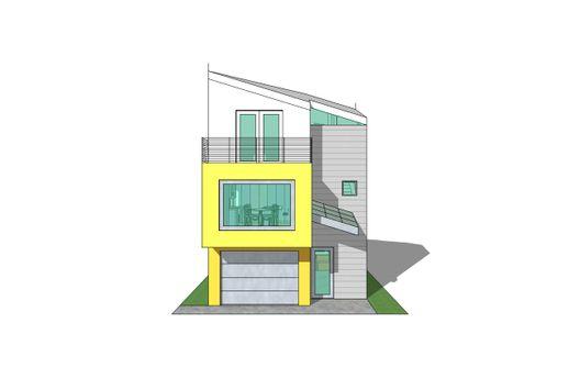 Triplex de dos dormitorios y 113 metros cuadrados