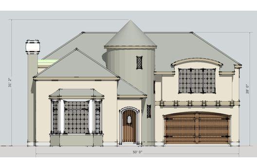Mansion de dos plantas, 4 dormitorios y 279 metros cuadrados