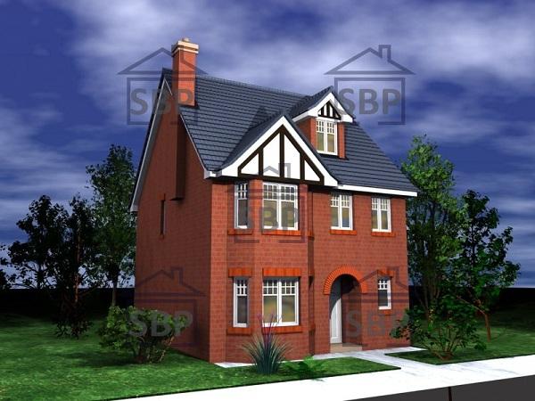 Casa de ciudad de tres pisos, cuatro dormitorios y 124 metros cuadrados